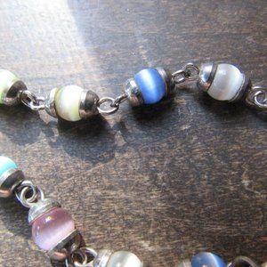 Colorful Beaded Glass Bracelet